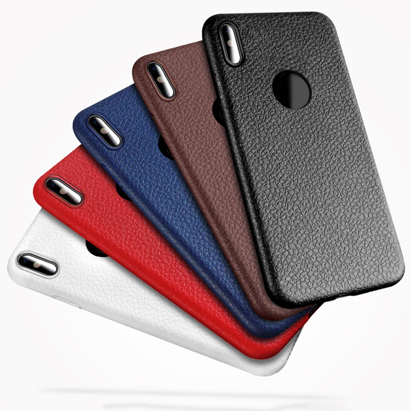 Phone Bag Case For Apple iphone X 10 8 7 6 6S Plus 7plus Case Soft TPU Slim Back Cover Protector Ultra Thin For iphone 8 cases