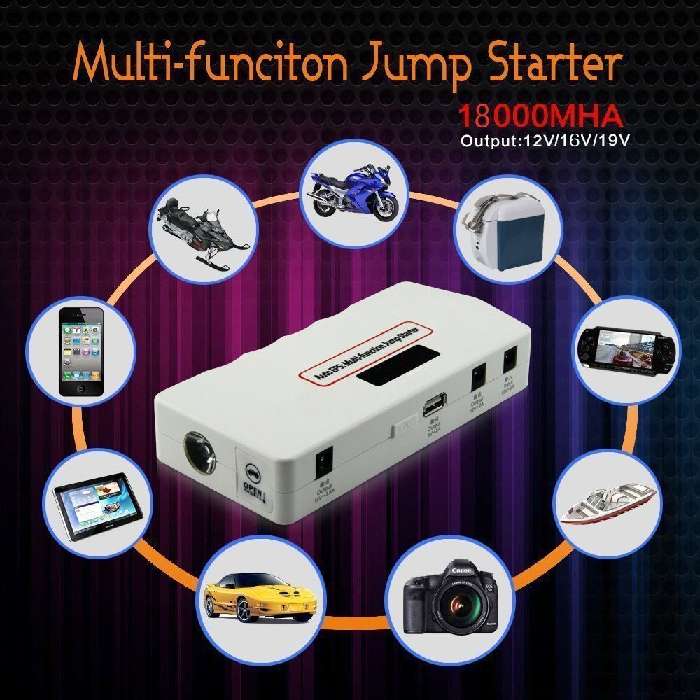 Car Jump Starter Power Bank Vehicle Portable Emergency Battery Charger 400a Multi-function car jump starter car power bank high quality mobile portable mini jump starter power battery charger phone laptop power bank