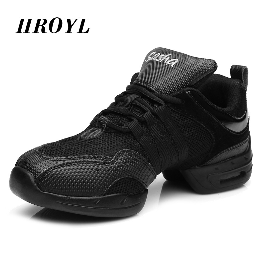 Hot sale in store Brand New Unisex Modern Jazz Hip Hop Dance Sneakers Shoes Pigskin black red gold color free shipping B56 free shipping good quality hot sale breathable black mesh dance sneakers woman jazz ballroom shoes zapatilla de deporte