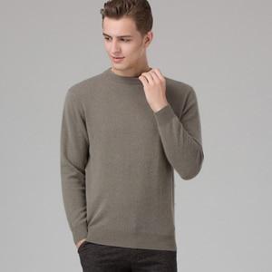 Image 1 - ผู้ชายฤดูหนาวจัมเปอร์ 100% แคชเมียร์และผ้าขนสัตว์ถักเสื้อกันหนาวคอยาวแขนยาว Pullovers ชาย 2016 เสื้อใหม่ขนาดใหญ่เสื้อผ้า