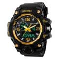 2016  Big Dial Men's Digital Watch S SHOCK Military Clock Men Watch Water Resistant Date Calendar LED Sports Watches Men