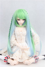 BJD SD doll wigs can be wigs double twist braid long hair bjd wig wholesale FBE073