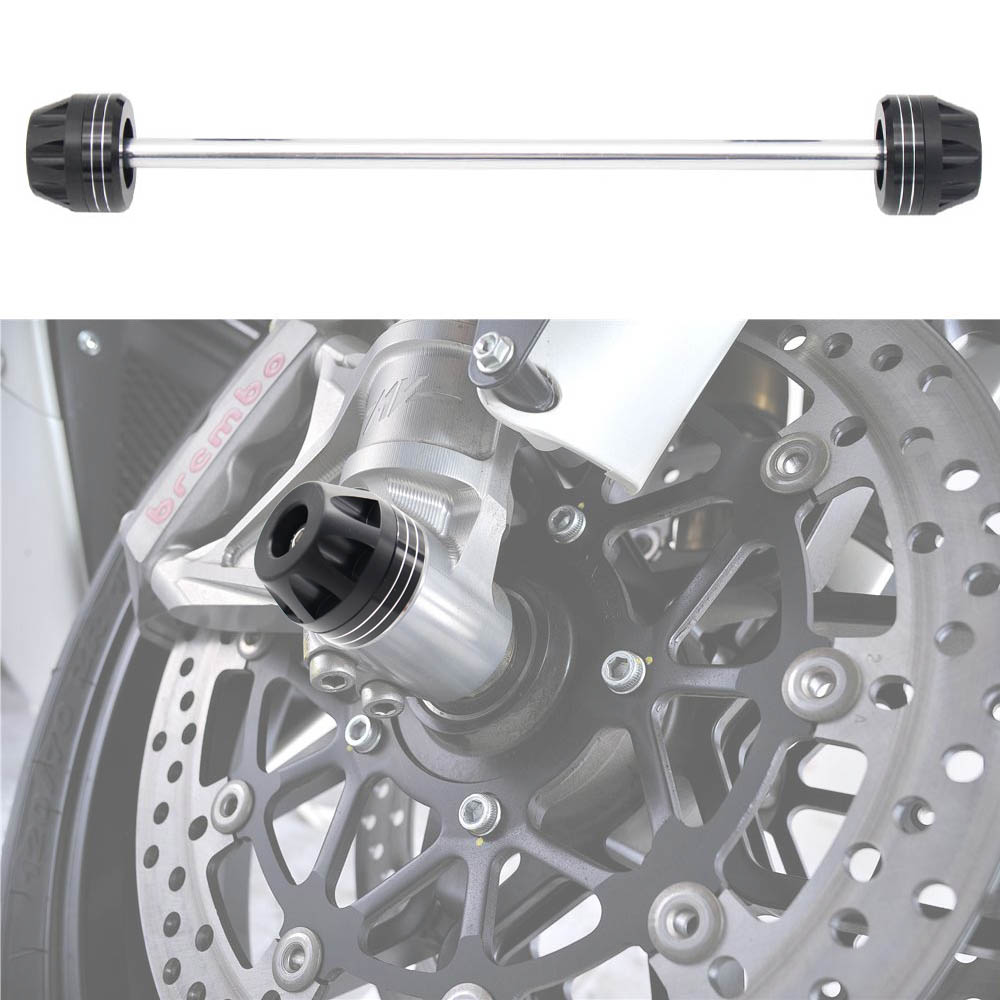 Motorcycle <font><b>Front</b></font> Axle Fork <font><b>Wheel</b></font> Protector Sliders Falling Protection For <font><b>SUZUKI</b></font> GSXR600 GSXR750 <font><b>GSXR</b></font> <font><b>600</b></font>/750 2004-2005 image