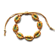 New Fashion Shell Bracelet For Women Rope Chain Colorful Adjustable Bohemian Bangle Jewelry Gift
