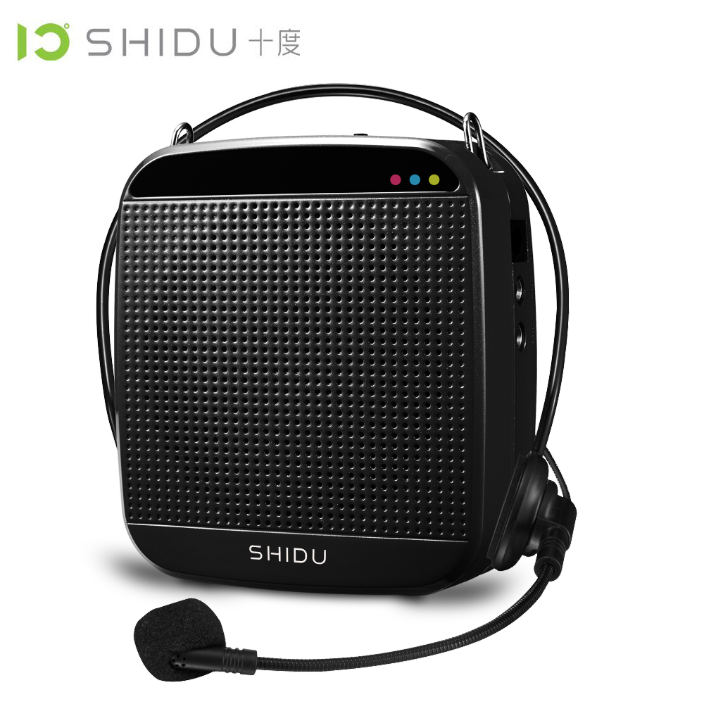 SHIDU 18Watts High Power Mini Portable Microphone Speakers Audio amplifier Tour Guide The classroom speech Megaphone SD-S512