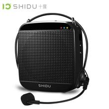 SHIDU 18Watts High Power Mini Portable Microphone Speakers Audio amplifier Tour Guide The classroom speech Megaphone SD-S512