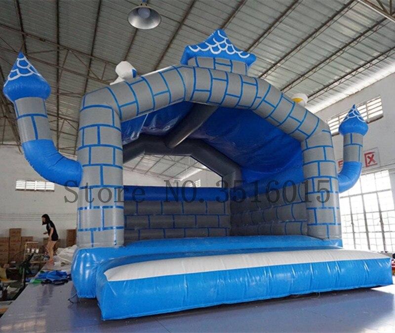 Livraison gratuite videur gonflable enfants château gonflable maison de rebond pour les événements de fête Trampoline gonflable avec un ventilateur