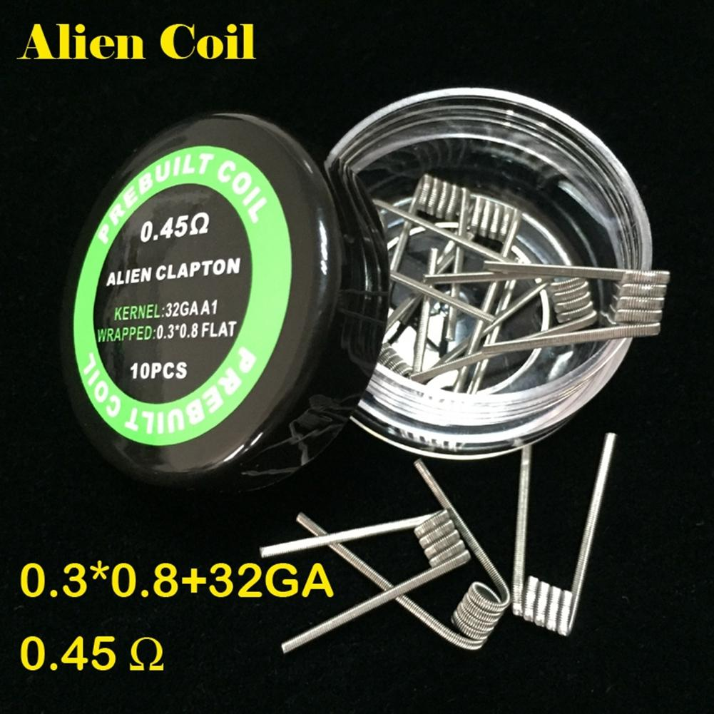 Starcig prebuild coil Flat Twisted Wire Fused Clapton Coils Hive ...