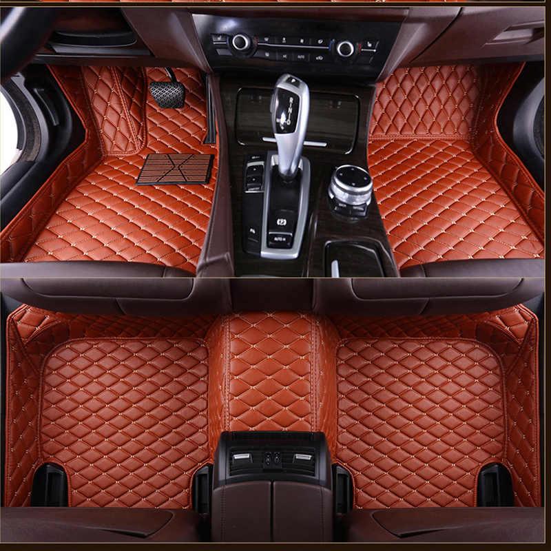 Auto fußmatten für Volkswagen vw passat polo golf tiguan jetta touran touareg bora Sagitar Magotan Teramont Nach styling 3D