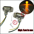 2 Pair Front Rear Motorcycle Turn Signal Led Light Bright Lamp Fits for HARLEY