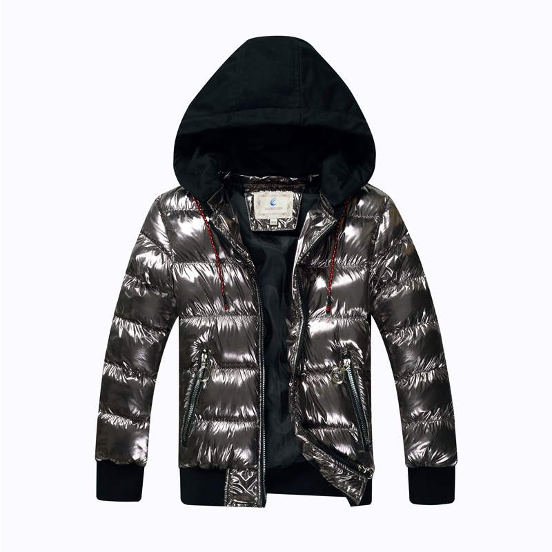 Boys Winter Jacket Parka Teens Waterproof Kids Coat Outerwear Cotton-Wadded Warm Thicken