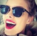 2016 Nuevo Semi Sin Rebordes Gafas de Sol Hombres Mujeres Marca Diseñador Gafas de Recubrimiento REVO Espejo Gafas de Sol de Moda Gafas de Sol