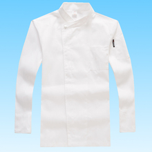 Chef Top Jacket, Chef Kitchen Long Sleeve Workwear, Fashion Neutral Chef Uniform, Breathable Fabric, Free Shipping