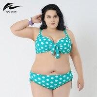 NEW Comfortable Fat Swimwear Swimsuit Sexy Girl Plus Size 2XL to 6XL Big Size Hot Push Up Bikini Large Size Bikinis Set 2017