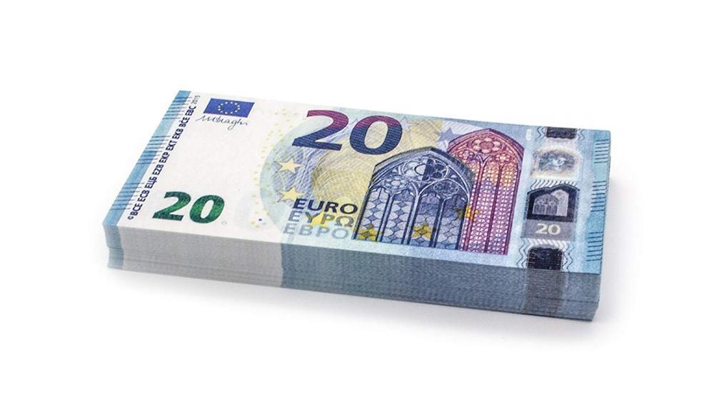 PROP 20 Euros, Fake Euro banknote , Banknotes Fake Money counting Kids money Pretend, 100PCS