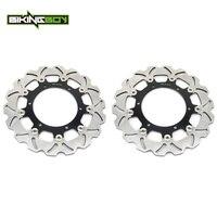 BIKINGBOY Front Brake Discs Disks Rotors For Yamaha XV 535 Virago 95 03 XT 660 Z 08 13 FZS FZ1 Fazer 01 05 BT 1100 Bulldog 02 06