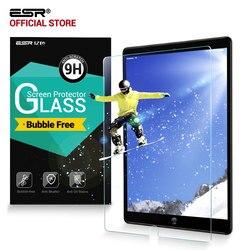 ESR واقي للشاشة لباد برو 10.5 الهواء 3 9H الزجاج المقسى المضادة للخدش واقي للشاشة مع تثبيت عدة ل باد Air3 2019