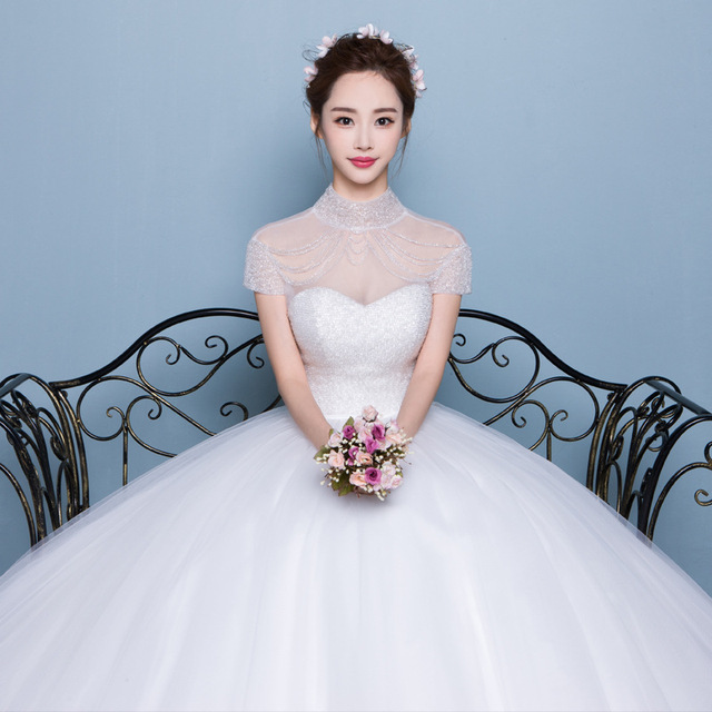 2017 New Arrival Velnosa Lace Ball Gown Lace Up Princess Wedding ...