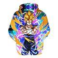 Anime Dragon Ball Z Goku 3D Sudaderas Jerseys Sudaderas Con Capucha Chico Hombre Mujer de Manga Larga Hip Hop Sudadera Con Capucha prendas de Vestir Exteriores 011505