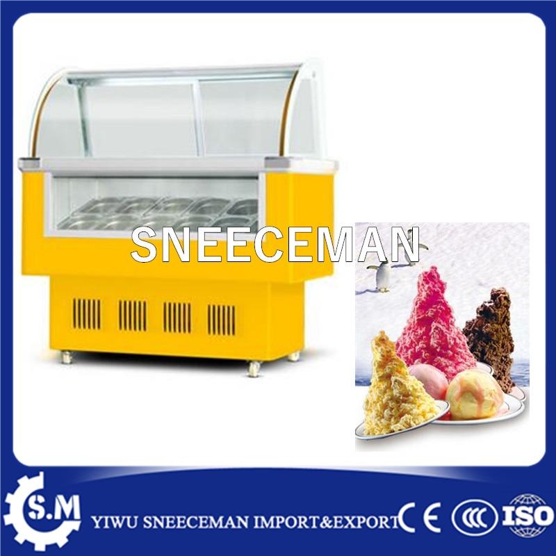 Ice Cream Display Display Cabinet/Ice Cream Display Freezers Price/Ice Cream Continuous