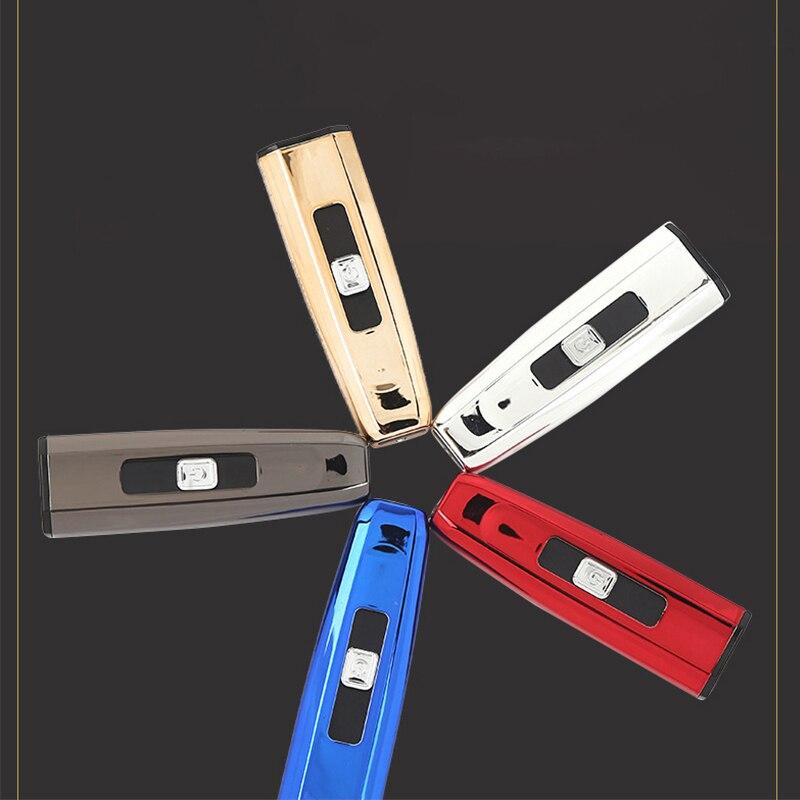 USB вольфрама турбо USB сигареты курить Зажигалка Электронная зажигалка перезаряжаемые ветрозащитный