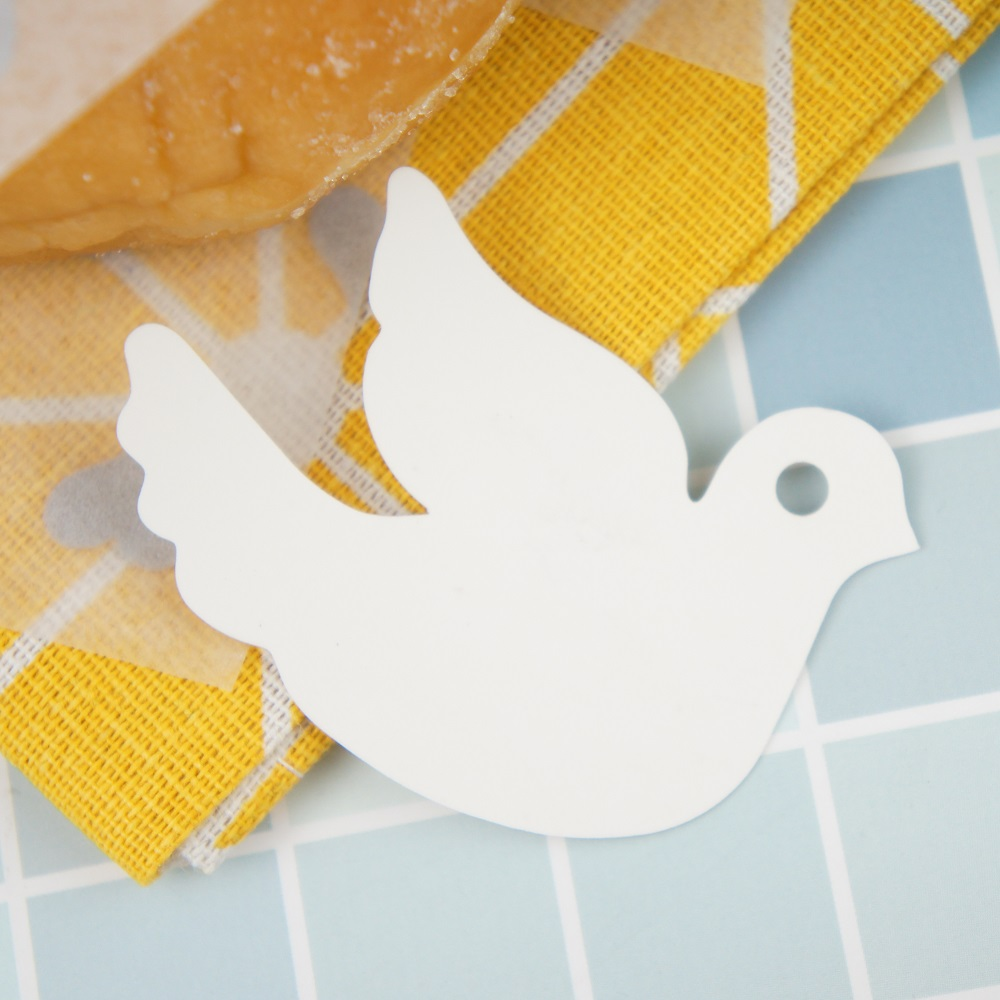love you Pigeon 50pcs Label Packaging Decoration Tags Wedding Favors Gifts Christmas Party Decor Hot Sale Scrapbooking DIY in Party DIY Decorations from Home Garden