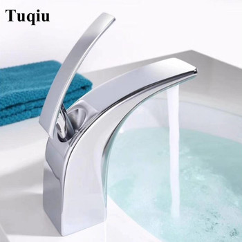 New Arrival brass Basin Faucet hot and cold lavatory Faucet single lever black sink Tap bathroom sink tap