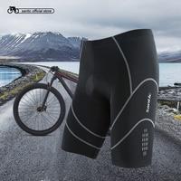 Santic Coolmax 4D Padded Cycling Shorts Shockproof MTB Road Bike Shorts Reflective  Bermuda Ciclismo S-XXXL MC05034