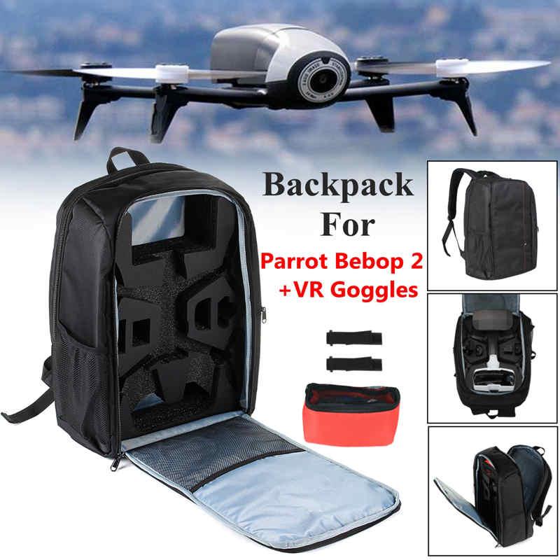Новый черный рюкзак для Parrot Bebop 2 мощность FPV-системы + VR очки Видео-дроны