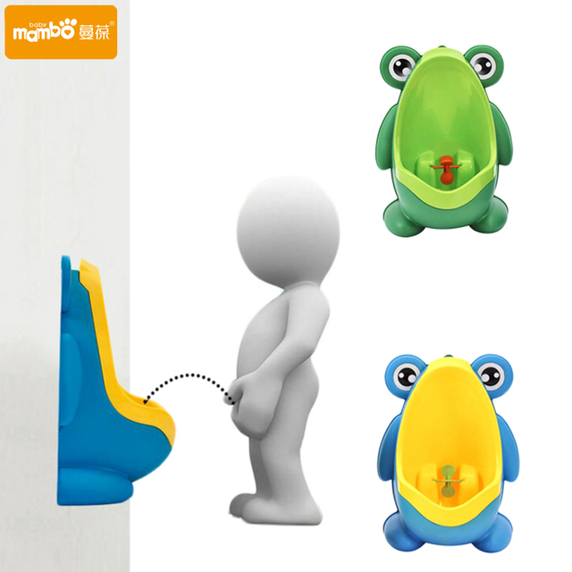 Wall-Mounted Urinal Training for Baby Boys