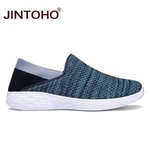 Image 4 - JINTOHO Unisex loaferlar yaz ayakkabı moda erkekler gündelik ayakkabı ayakkabı ucuz nefes erkek spor ayakkabı rahat erkek ayakkabı erkekler Shose