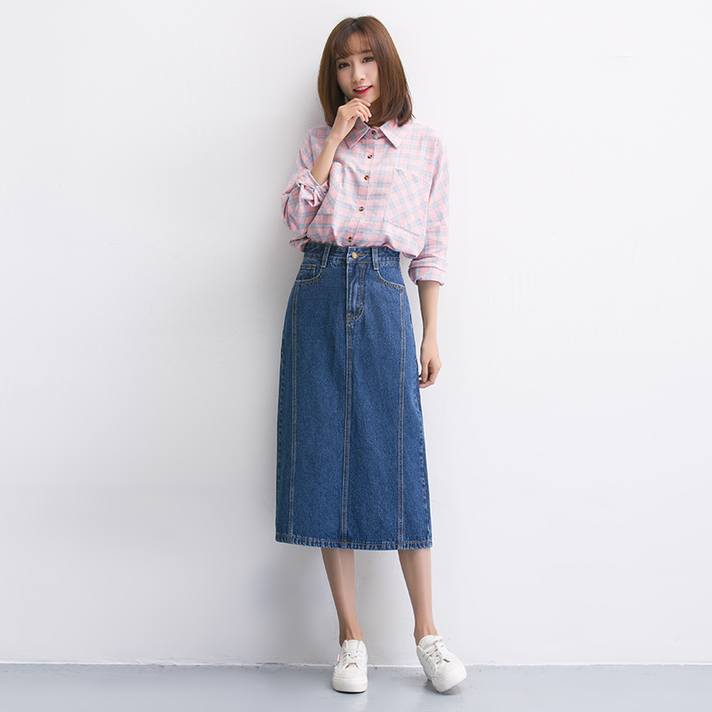 Popular Denim Skirts-Buy Cheap Denim Skirts lots from China Denim ...