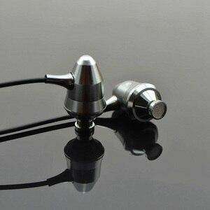 Image 5 - Металлические наушники вкладыши RUKZ T1, гарнитура с микрофоном, профессиональный Hi Fi стерео мобильный телефон, наушники с шумоподавлением