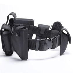 1 セット多機能ウエストベルト戦術的なバッグ 600D 屋外狩猟訓練 Cs 警察セキュリティガードヘビ調節可能な equ