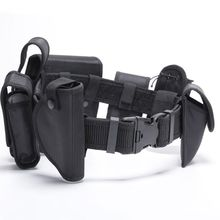 1 Set Multi-functional Waist Belt Tactical Bags 600D Outdoor Hunting Training CS Police Security Guard Duty Nylon Adjustable Equ