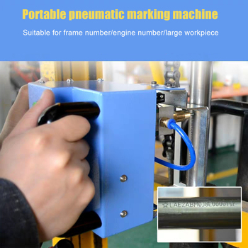 Chinese Cheap Price Metal Marking Machine Portable Pneumatic Marking Machine Serial Number Marking Machine new 3x60mm m19x1 pneumatic metal marking machine stylus portable metal marking machine parts