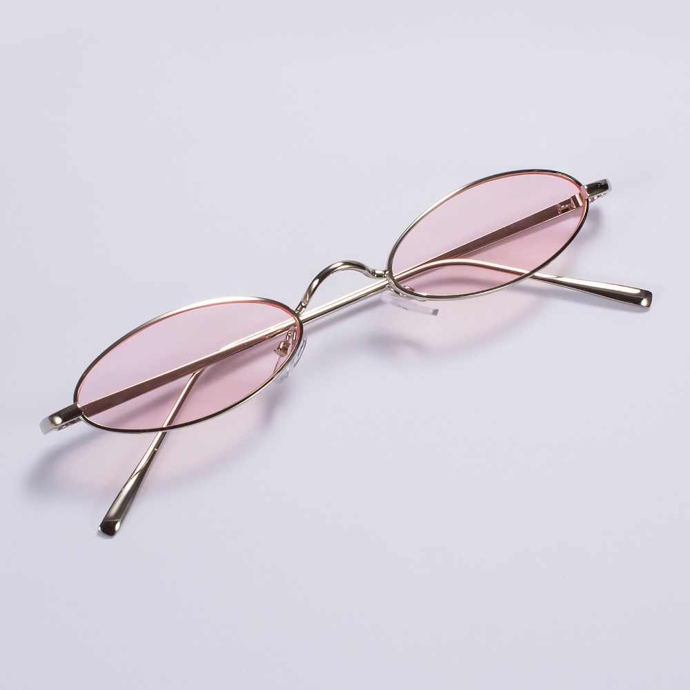 Классические винтажные мужские и женские очки, Овальные Солнцезащитные очки небольшого размера UV400