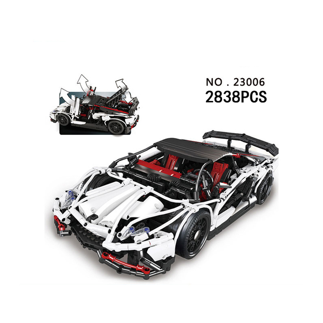 Hot Schaal Duitsland Beroemde Merk Bull Logo Veneno Super Sport Auto