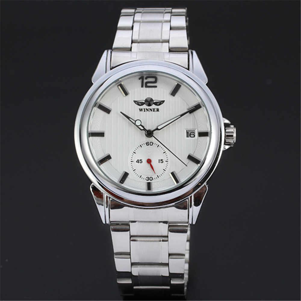 勝者トップブランド高級メンズ腕時計男性ミリタリースポーツ時計自動機械式時計男性鋼スケルトン時計060