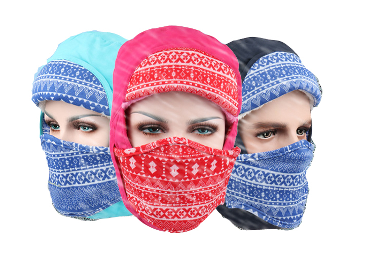 2016 New Women Beanies For Men Outdoor beanie Hat Winter Warm Motorcycle Mask Snow Ski Cap snowboard Balaclava Earmuffs Cappello