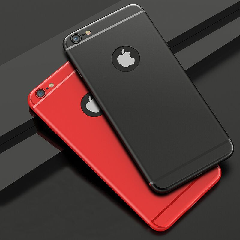 Funda de silicona súper flexible de colores dulces para Iphone 6 6S 7 8 Plus X XS Slim Matte Protect Skin Rubber Phone Cover Coque TPU Case