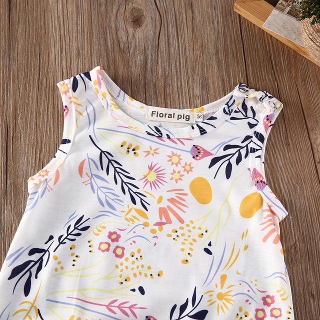 Floral Sleeveless Jumpsuit