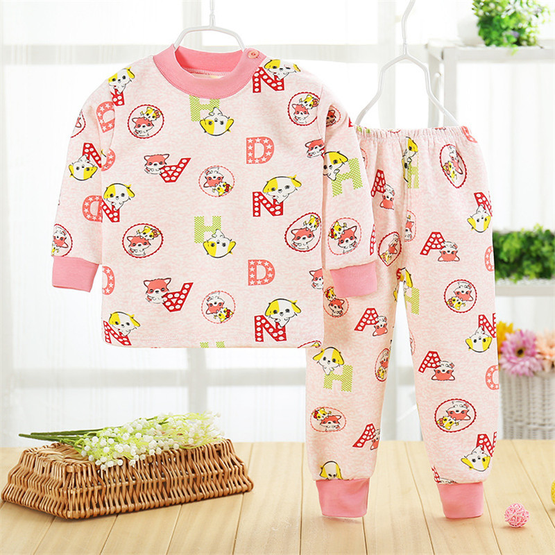 61e93b1c5 ∞2017 Hot Kids Cotton Underwear Suit Girls Sleepwear Trousers With ...