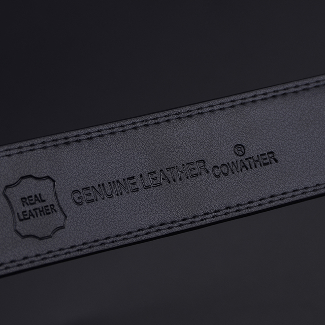 New 100% cow genuine leather belts for men high quality