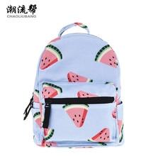 Chaoliubang мини-рюкзак женщины арбуз печати рюкзаки для корейский стиль для девочек Путешествия Рюкзак Детские Книги рюкзак сумка
