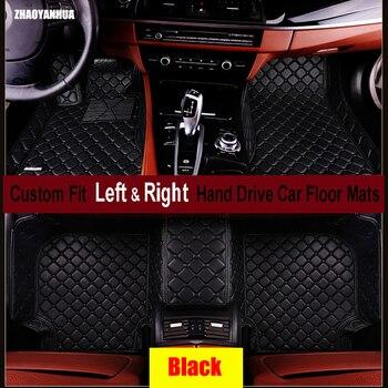 ZHAOYANHUA Car floor mats for BMW 7 series E65 E66 730Li 735Li 740Li 745Li 750Li 760Li 730i 735i 740i 745i 740d 6D carpet liners