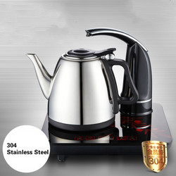 Electric kettle Automatic upper water electric 304 stainless steel glass Safety Auto-Off Function