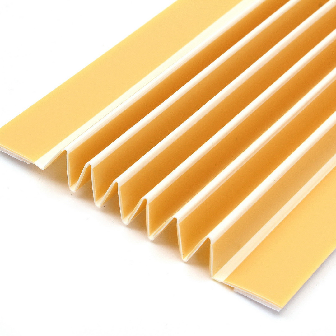 2Pcs/lot Yellow Strip Corners Table Bumper Baby Kids Finger Protector Toddler Safety Pinch Strip Guard for Home Kitchen Bedroom