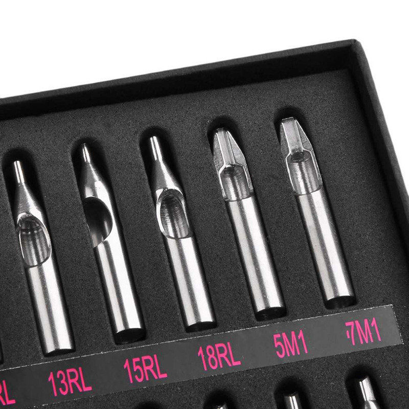 New-Hot-Best-22pcs-lot-22-Sizes-Tattoo-Tips-304-Stainless-Steel-Tattoo-Nozzle-Tips-for (2)