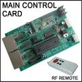 2016 Hot Sale Main Control Card Rf Remote 100 Meter Led Digital Numbres Display Led Numbers Mother Board 12v